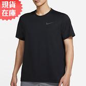 【現貨】NIKE Pro Dri-FIT 男裝 短袖 訓練 彈性 輕盈 透氣 黑【運動世界】CZ1182-011
