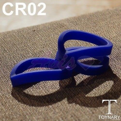 男女性愛情趣用品~香港Toynary CR02 Black 特樂爾 猛男吊環-(2入)