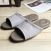 【iSlippers】風格系列-渲色皮質室內拖鞋渲色紫M
