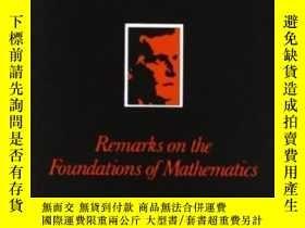 二手書博民逛書店Remarks罕見On The Foundation Of MathematicsY255562 Ludwig
