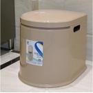 移動馬桶老人坐便器老年人坐便椅成人便攜家用塑膠座便器配兩桶