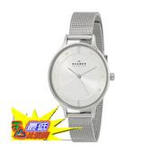 [104美國直購] 女士手錶 Skagen Women s SKW2149 Anita Stainless Steel Watch with Mesh Bracelet $4354