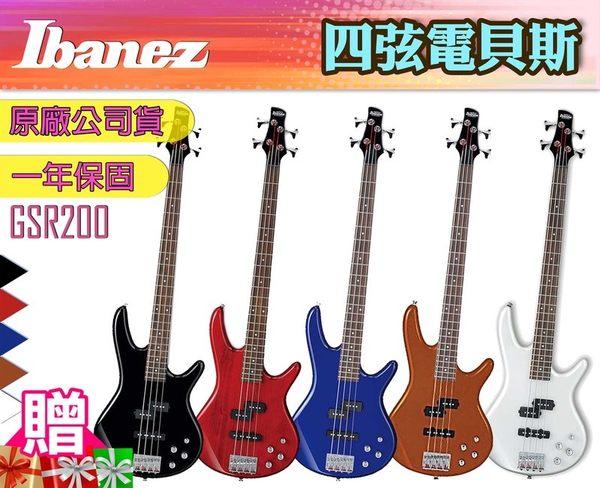 【小麥老師 樂器館】買1送12!!IBANEZ GSR200 GSR-200 電貝司 電貝斯 22品