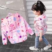 女童外套加絨2019新款春季秋冬童裝洋氣兒童小女孩女寶加厚女寶寶  怦然心動