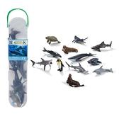 【永曄】collectA 柯雷塔A-英國高擬真動物模型-迷你海洋生物組1(盒裝-12入)