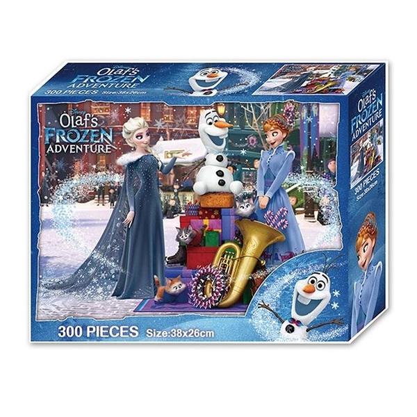 (A)雪寶的佳節冒險300片盒裝拼圖