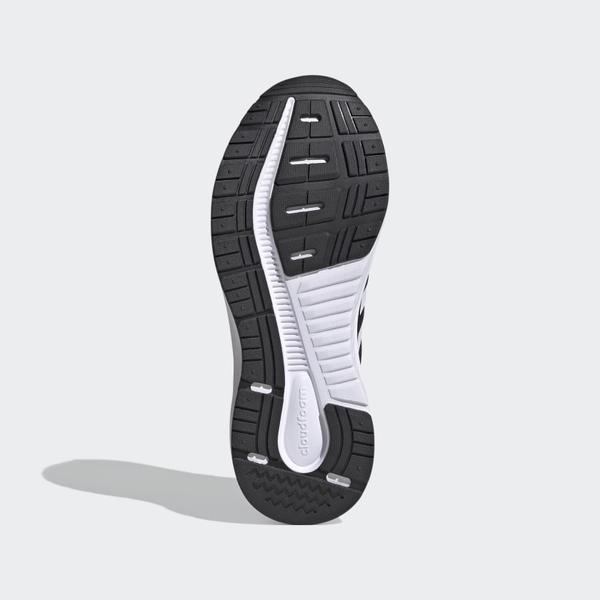 ADIDAS GALAXY 5 女款黑白透氣緩震慢跑鞋-NO.FW6125