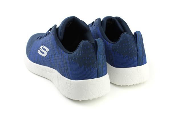 SKECHERS SKECH-KNIT 運動鞋 藍色 男鞋 52107NVBL no511