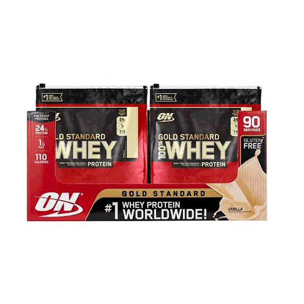 [COSCO代購] W6900248 Optimum Nutrition 黃金標準乳清蛋白粉 - 香草 2.79 公斤 6 入