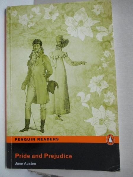 【書寶二手書T9/原文書_BLB】Pride and Prejudice_Austen, Jane