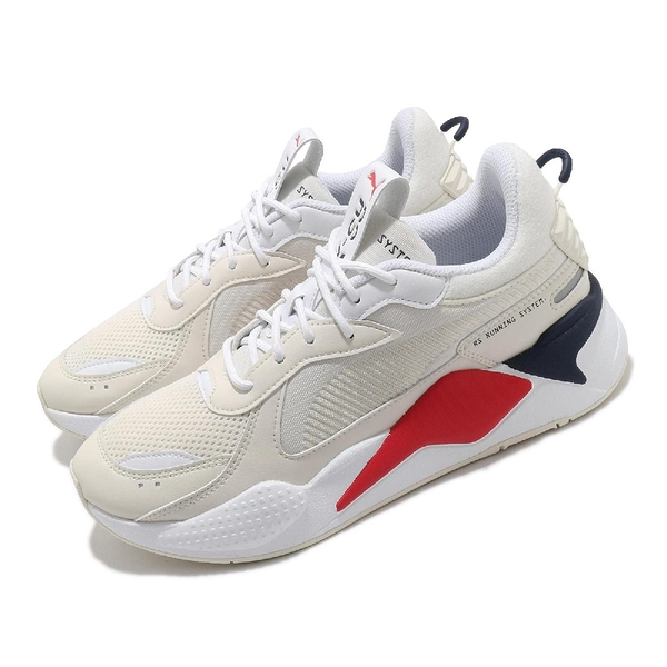 Puma 休閒鞋 RS-X Pop 米白 紅 運動鞋 基本款 男鞋 女鞋 復古外型【ACS】 38046101