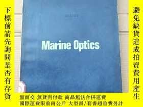 二手書博民逛書店marine罕見optics(P2172)Y173412
