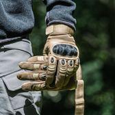 軍迷特種兵戰術手套男全指防割格斗防身手套【步行者戶外生活館】