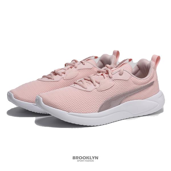 PUMA 慢跑鞋 RESOLVE METALLIC WN'S 粉白 輕量 女 (布魯克林) 19506306