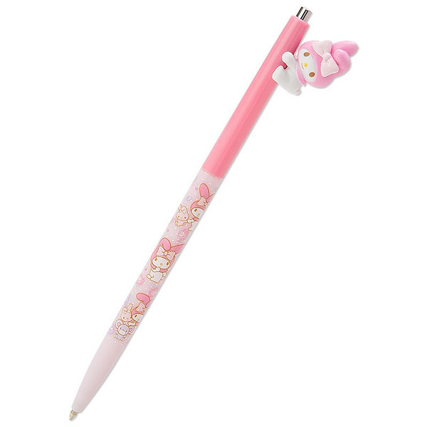 My Melody 美樂蒂 大頭造型原子筆 黑色 日本製 三麗鷗 該該貝比日本精品 ☆