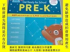 二手書博民逛書店英文原版罕見Get Ready for School Pre-K