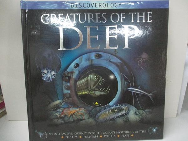 【書寶二手書T8/兒童文學_DRO】Creatures of the Deep_Woodward, John