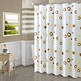 北歐浴室浴簾免打孔套裝衛生間隔斷簾窗簾防水防霉加厚不透掛簾子   LannaS
