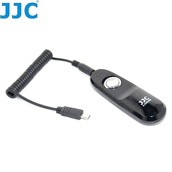 我愛買#JJC可換線Sony快門線遙控器S-S2相容RM-VPR1快門拍照功能適a5000 a3000 RX10 II RX100 IV III HX60V WX500