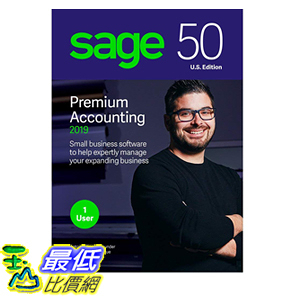 [8美國直購] 暢銷軟體 Sage 50 Premium Accounting 2019 – Advanced Accounting Software – Safe and B07FMBCWBN