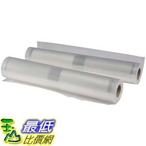 [106美國直購] 卷袋 Nesco VS-04R Replacement Roll Bags, 11.0-Inch by 19.69-Feet, 2 Pack