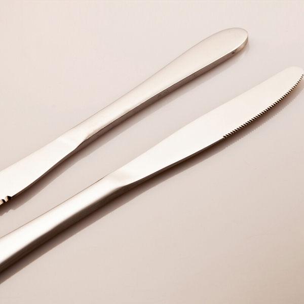 PUSH! 餐具用品不銹鋼牛排刀西餐刀西餐餐刀餐具2pcs E57