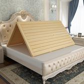 松木硬床板折疊木板實木排骨架單人1.8米加寬硬板床墊床架