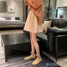 春夏新款韓版高腰顯瘦網紗裙A字短裙百搭蓬蓬仙女半身裙女 洛小仙女鞋