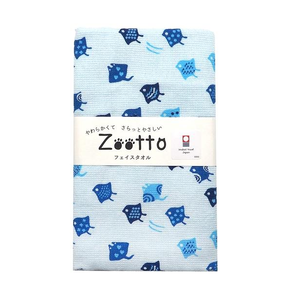 日本zootto今治純棉毛巾-千鳥