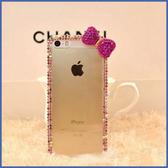 蘋果 iPhone11 Pro Max SE2 XS MAX IX XR XS i8 Plus i7 i6S 小蝴蝶結邊鑽 水鑽殼 手機殼 訂製