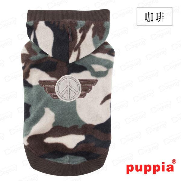 國際名品《Puppia》迷彩帽T S/M號 小狗衣服 狗衣服 狗毛衣 貴賓/馬爾濟斯/吉娃娃