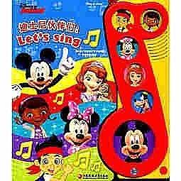 簡體書-十日到貨 R3Y【迪士尼夥伴們:Let's sing(pi kids 皮克童書·有聲玩具)】 978754996277...