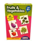 諾貝兒益智玩具Frank 全腦開發Fruits Vegetables 蔬菜水果