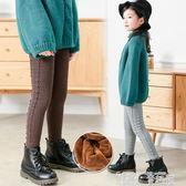 兒童保暖褲 寶寶加絨褲子秋冬季女童加厚打底褲兒童冬外穿棉褲長褲保暖褲 童趣屋
