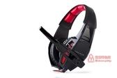 遊戲耳機 游戲耳機頭戴式重低音帶話筒台式電腦通用耳麥 2色T