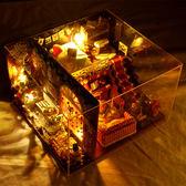 diy小屋生日禮物女生創意禮物拼裝房子模型益智兒童玩具 全館八折柜惠
