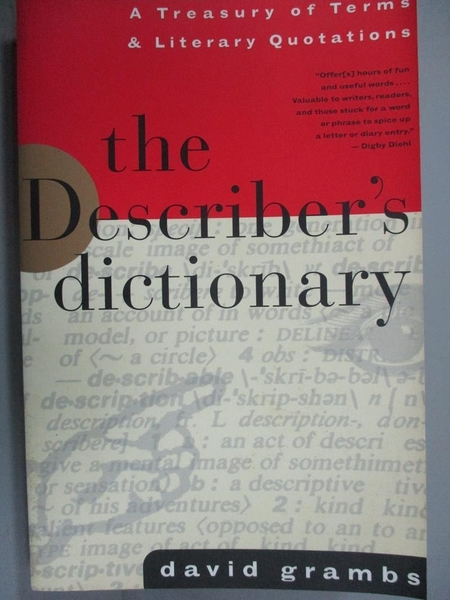 【書寶二手書T2/語言學習_HBE】The Describer's Dictionary: A Treasury of