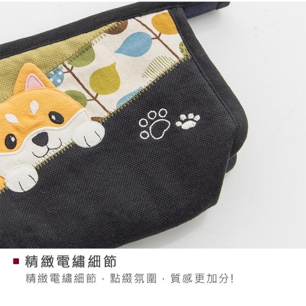 Kiro貓‧柴犬寶寶 拉鍊 手拿包/化妝包/收納包【820194】