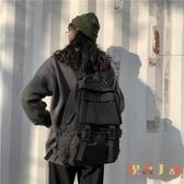 大容量後背包女韓版學生書包百搭雙肩包男【倪醬小舖】