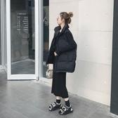 短款羽絨棉馬甲女士秋冬季2020新款韓版寬鬆面包背心坎肩馬甲外套  免運快速出貨