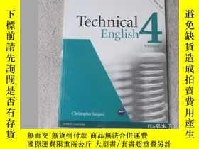二手書博民逛書店Technical罕見English Level 4 Workb