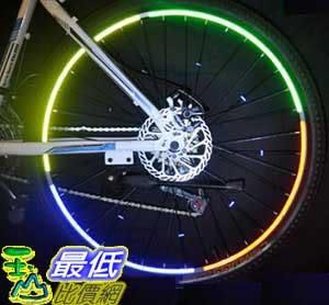 [106玉山最低比價網] 1組4張 超炫 自行車輪圈反光條 車輪反光貼紙 多種顏色選擇