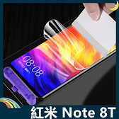 Xiaomi 小米 紅米機 Note 8T 滿版水凝膜 全屏3D曲面 抗藍光 高清 防刮 防爆抗汙 螢幕保護貼 (兩片裝)