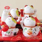 小可愛七福貓儲蓄罐日本陶瓷招財貓 CY「韓風物語」