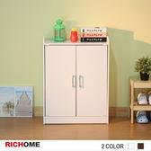 【RICHOME】愛麗絲超值鞋櫃-2色時尚白