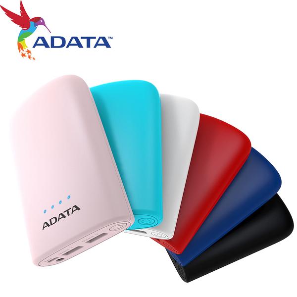 ADATA 威剛 P10050V 行動電源 電芯容量 10050mAh 2A輸入 共2.4A輸出