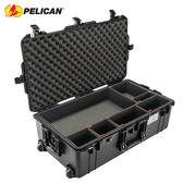◎相機專家◎ Pelican 1615AirTP 超輕防水氣密箱(TrekPak隔板組) 拉桿帶輪 公司貨