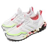 【海外限定】adidas 慢跑鞋 Ultraboost C.RDY DNA 白 粉紅 螢光綠 愛迪達 女鞋【ACS】 FV7017
