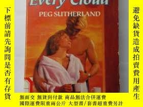 二手書博民逛書店Behind罕見Every Cloud PEG SUTHERLA