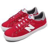 【五折特賣】New Balance 休閒鞋 NB 210 N字鞋 紅 白 復古帆布鞋 運動鞋 女鞋【ACS】 AM210CRDD